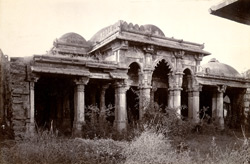 General view of the Isanpur Mosque or Malik Isan's Mosque, Ahmadabad